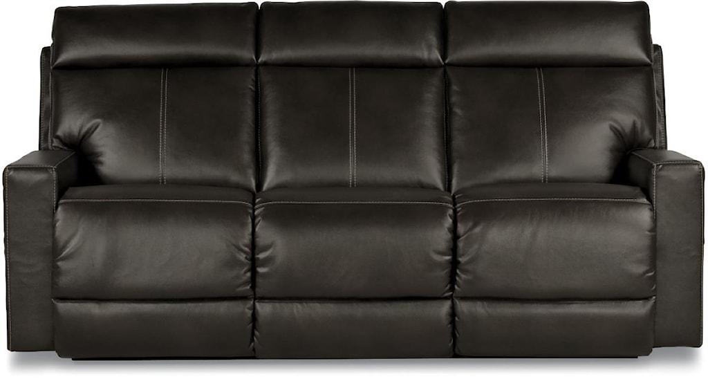 La Z Boy Jax Contemporary Reclining Sofa With Topstitch Detailing