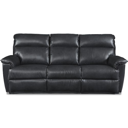 La-Z-Boy Jay Casual Power Reclining Sofa with Power Tilt Headrests and USB Charging Ports