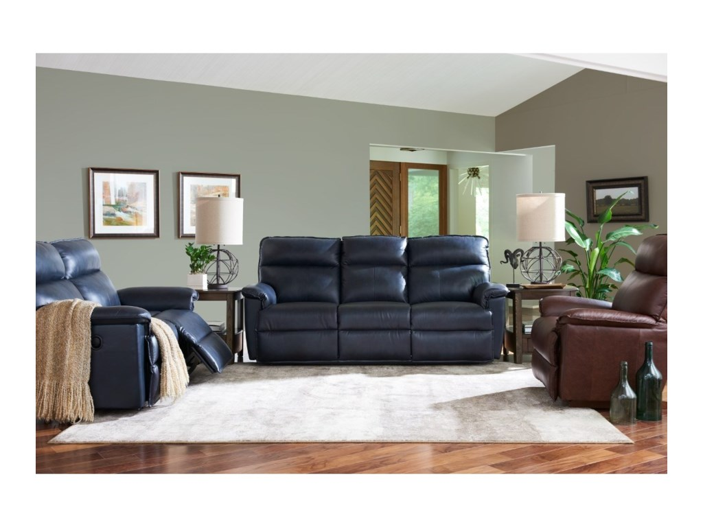 La-Z-Boy JayPowerRecline Reclining Sofa w/ Pwr Headrests