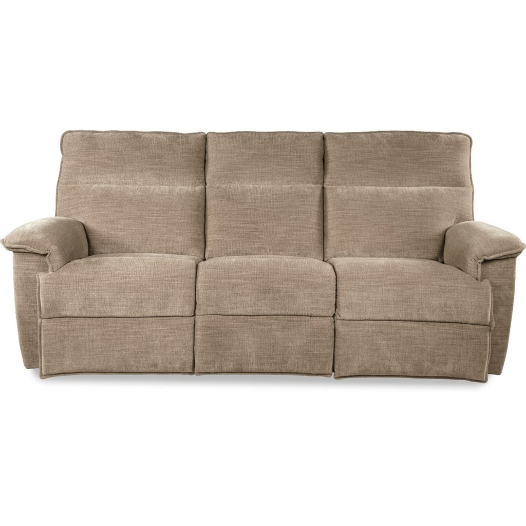 La Z Boy Jason Casual Power Reclining Sofa With Power Tilt Headrests