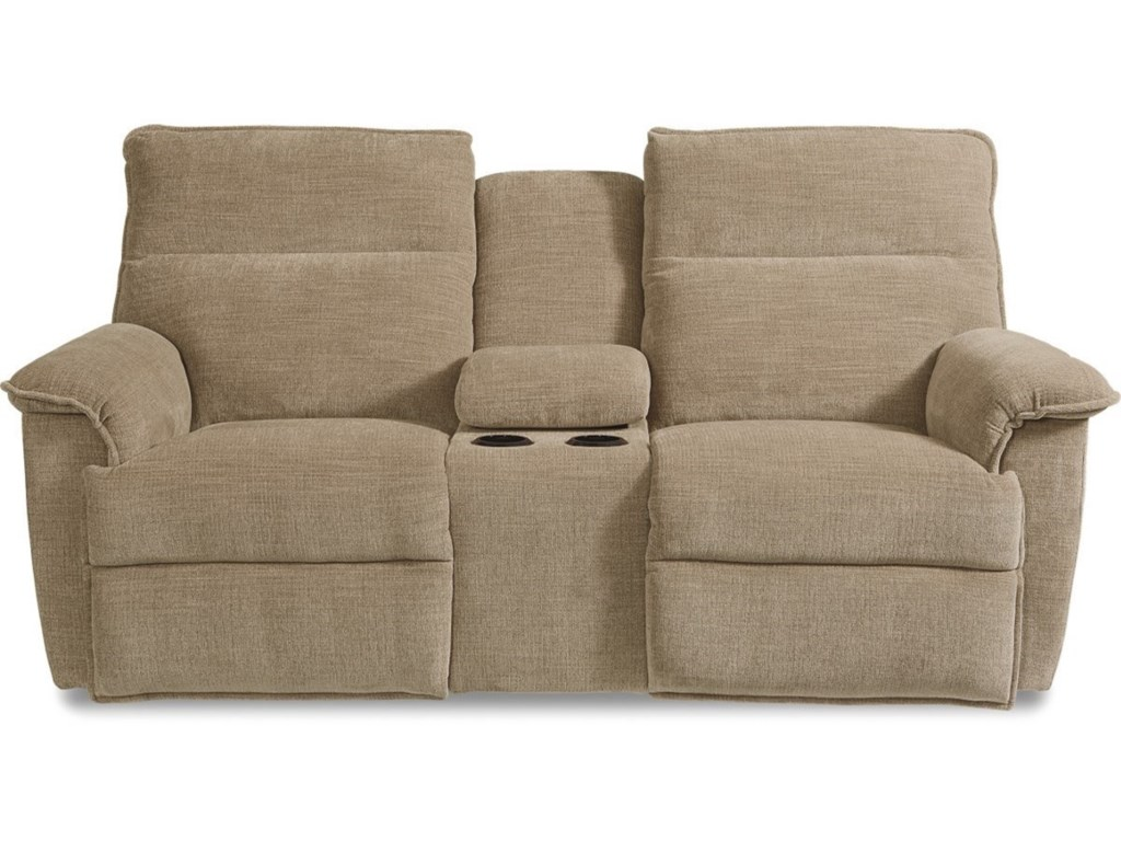 lazy reclining full product loveseat way la z reclina pinnacle wconsole boy console brown w sugar