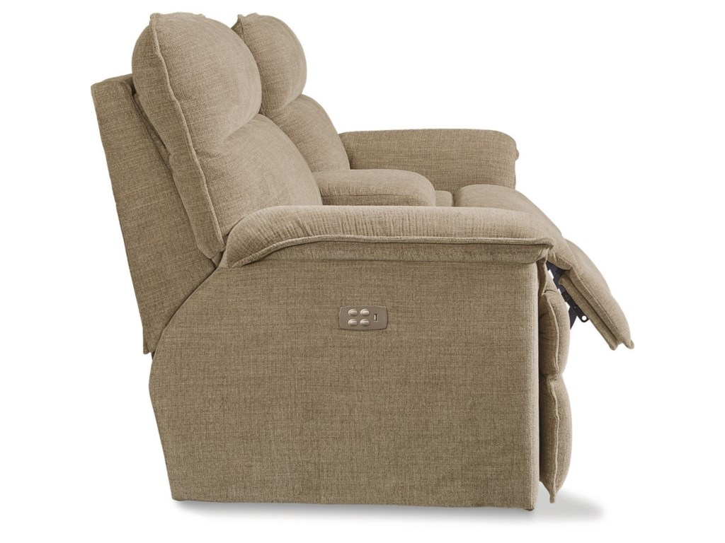 La-Z-Boy JayPowerRecline Loveseat w/ Power Head & Consol