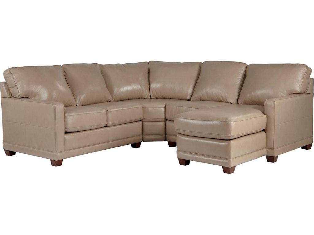 La-Z-Boy KennedyTransitional Sectional Sofa