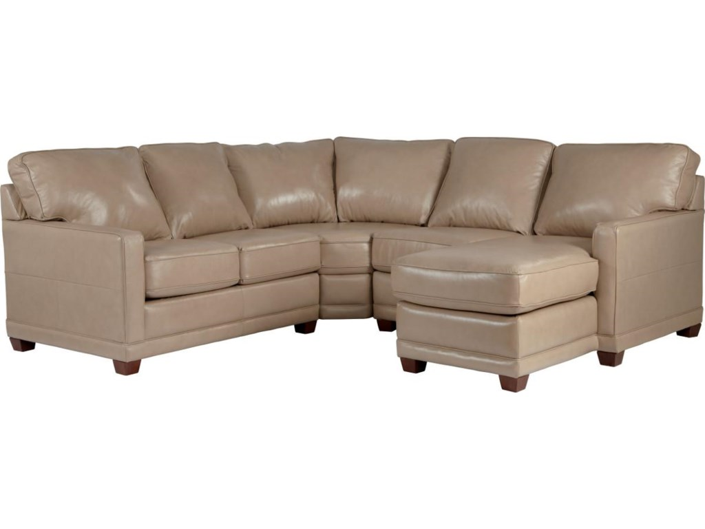 La-Z-Boy KennedyTransitional Sectional Sofa