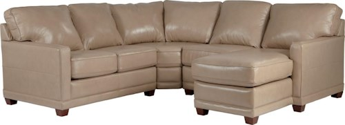 La-Z-Boy Kennedy Transitional Sectional Sofa with LAS Chaise
