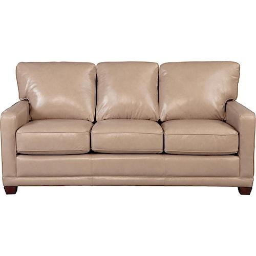 La-Z-Boy Kennedy Transitional SUPREME-COMFORT? Queen Sleep Sofa