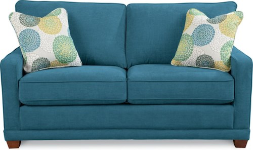 La-Z-Boy Kennedy Transitional Apartment-Size Sofa