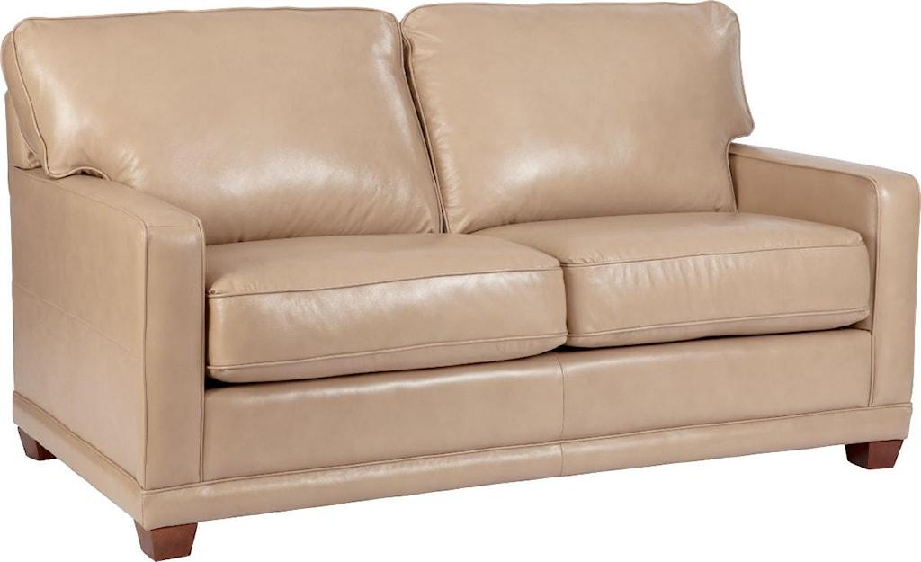 La Z Boy Kennedy Transitional Apartment Size Sofa Houston S Yuma
