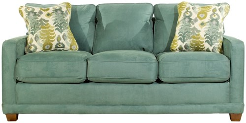 La-Z-Boy Kennedy Transitional SUPREME-COMFORT™ Queen Sleep Sofa