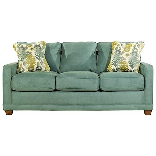 La Z Boy Kennedy Transitional Supreme Comfort Queen Sleep Sofa