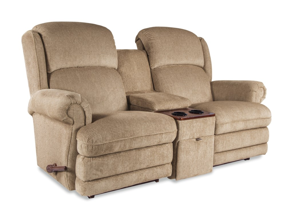 La-Z-Boy Kirkwood3 Pc Power-XR Reclining Loveseat w/ Console