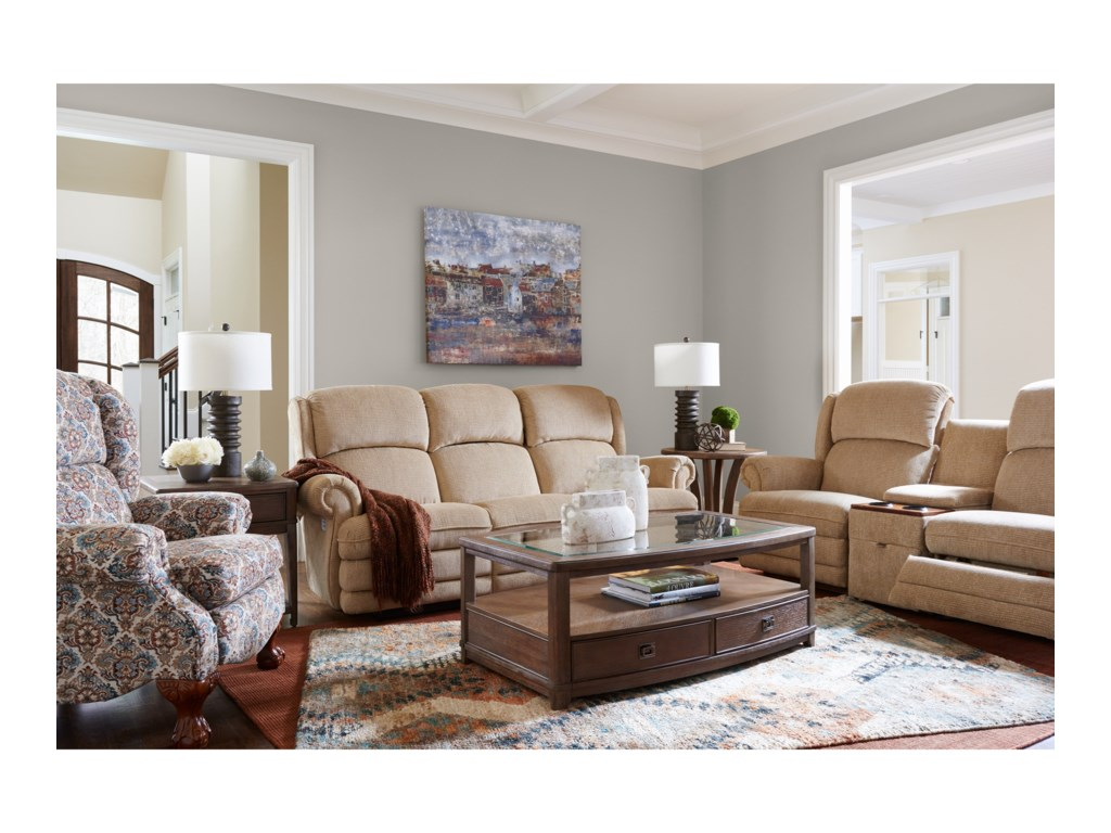 La-Z-Boy Kirkwood3 Pc Reclining Loveseat w/ Console