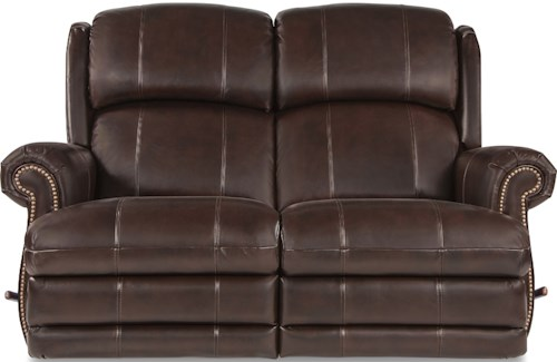 La-Z-Boy Kirkwood Traditional Space Saver Reclining Loveseat