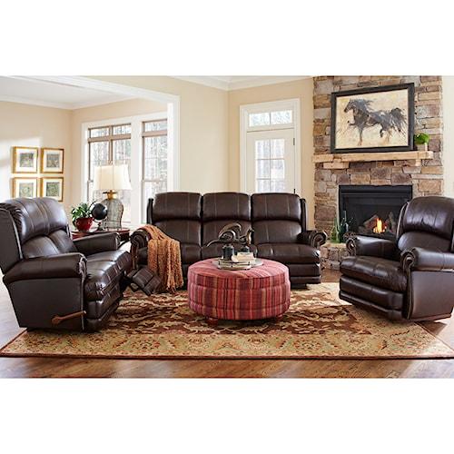 La-Z-Boy Kirkwood Reclining Living Room Group