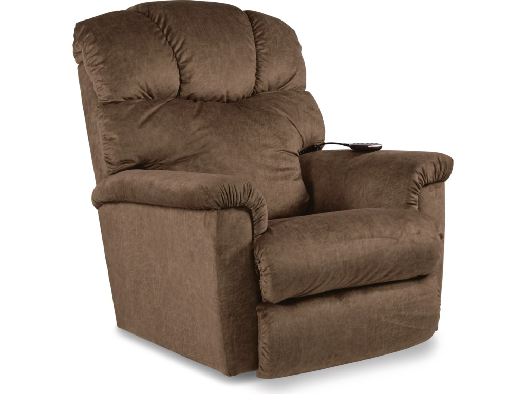 La-Z-Boy LancerPower Rocking Recliner w/ Headrest