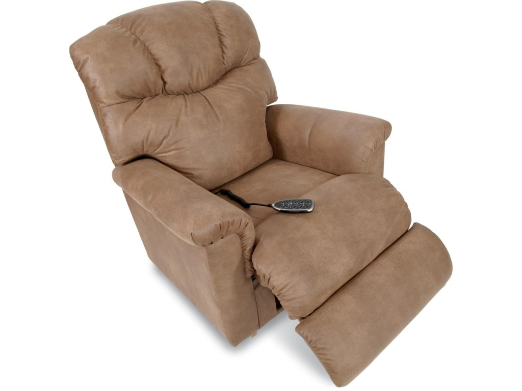 La-Z-Boy LancerPower Rocking Recliner w/ Headrest & Lumbar