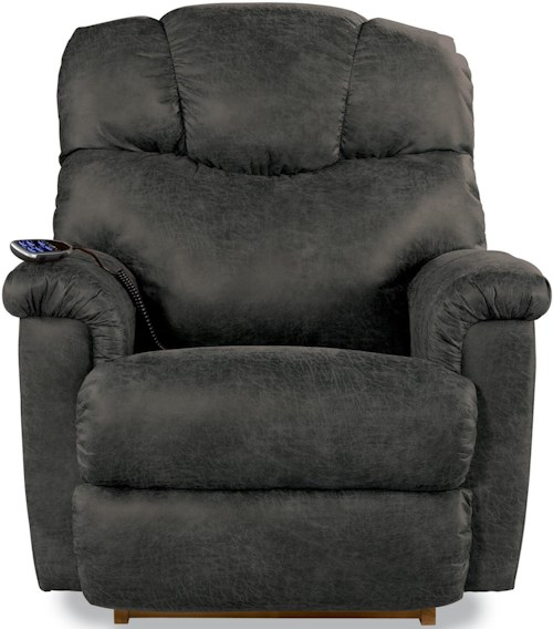 La-Z-Boy Lancer Power-Recline-XRw™+ Wall Saver Recliner with Power Tilt Headrest and Lumbar