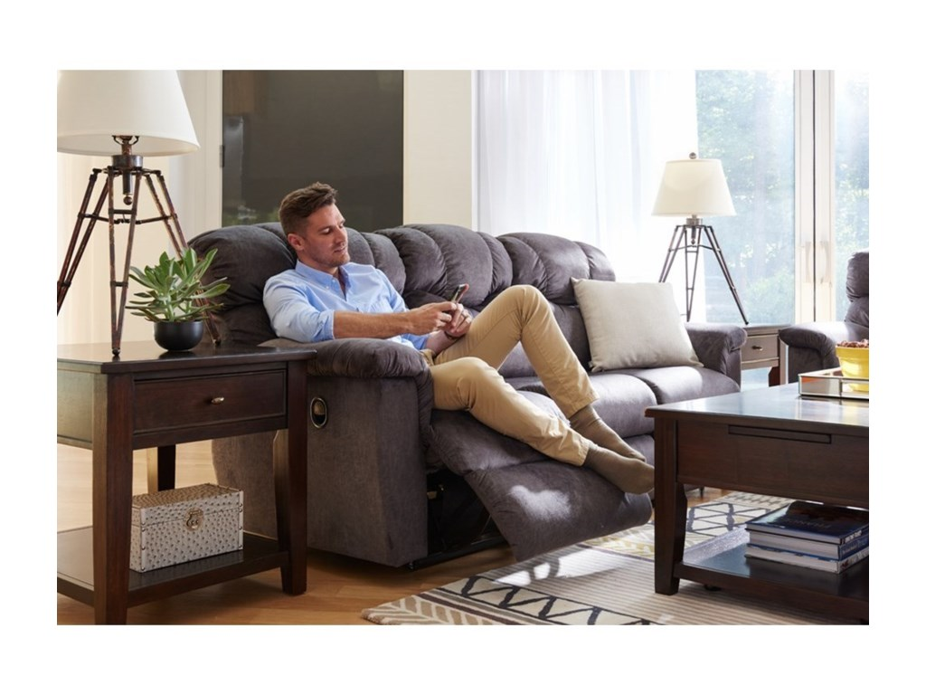 La-Z-Boy LancerPower La-Z-Time® Full Reclining Sofa