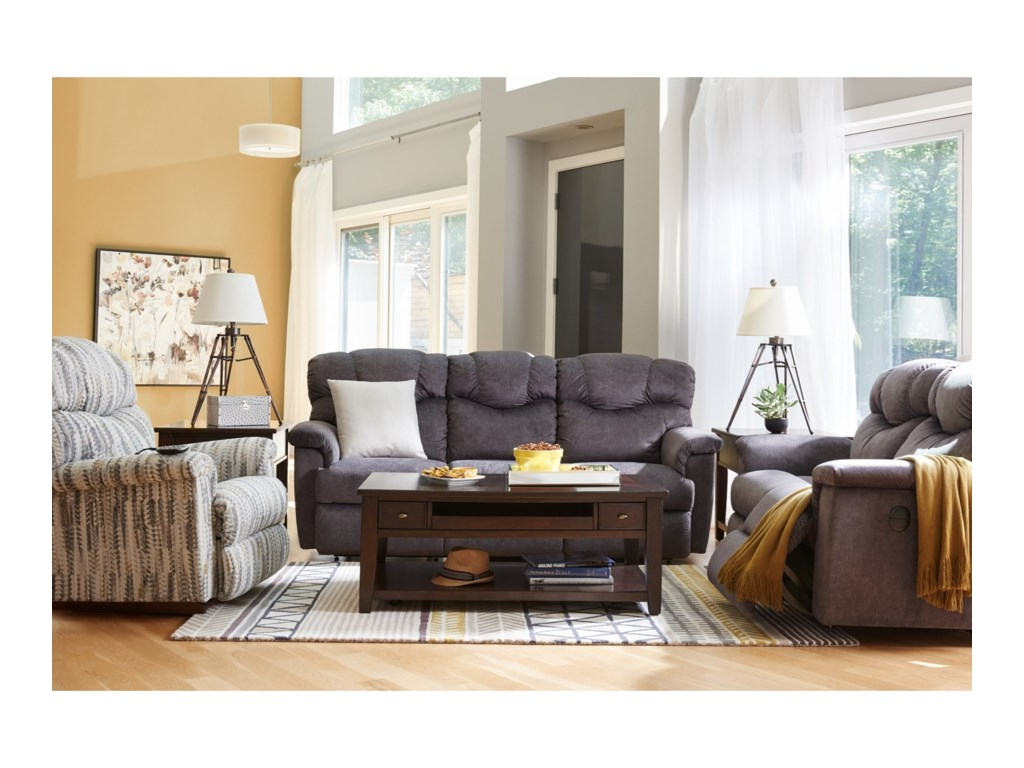 La-Z-Boy LancerLa-Z-Time® Full Reclining Loveseat