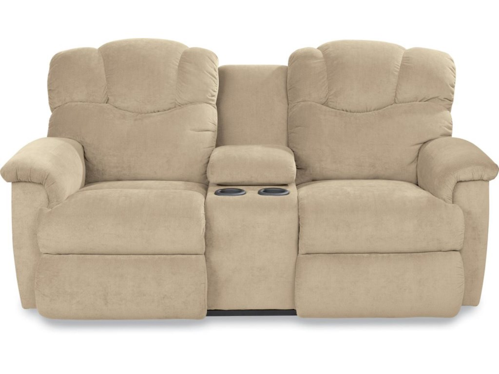 La-Z-Boy LancerLa-Z-Time? Full Reclining Loveseat w/Console