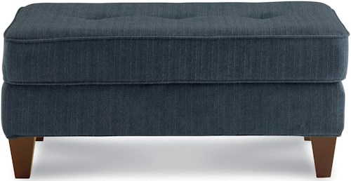 La-Z-Boy Laurel  Button Tufted Ottoman