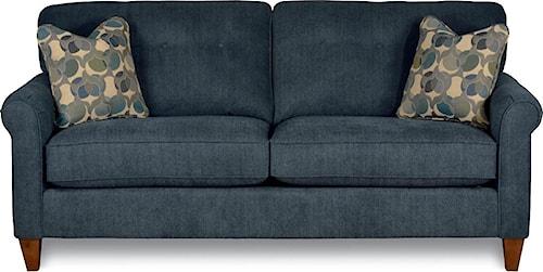 La-Z-Boy Laurel  Stationary Button Tufted Sofa