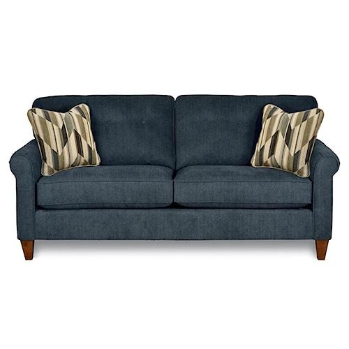 La-Z-Boy Julius Stationary Button Tufted Sofa