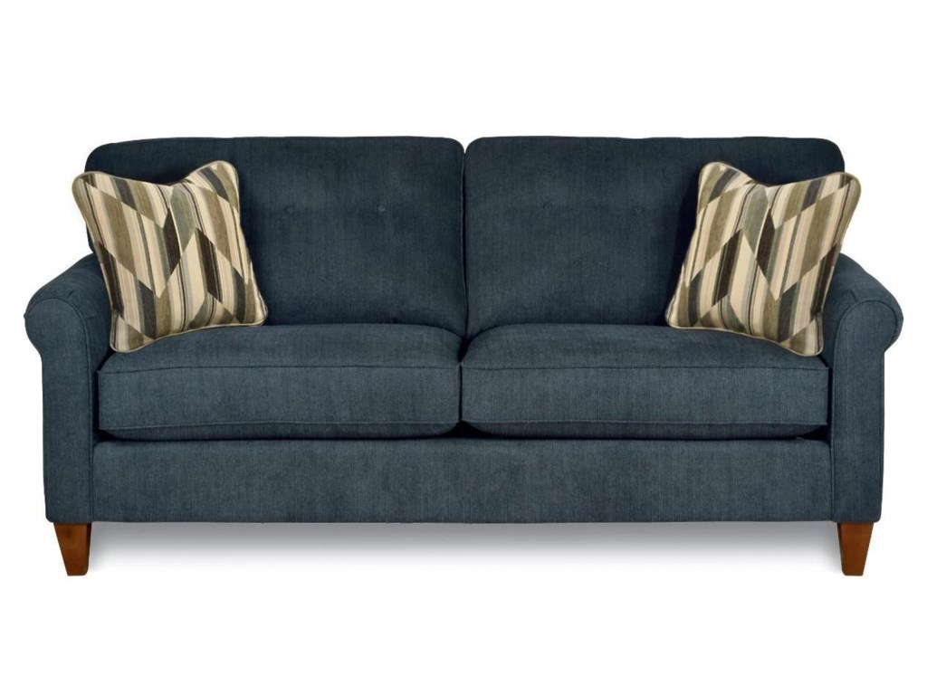 Julius Stationary Button Tufted Sofa by La-Z-Boy at Rotmans