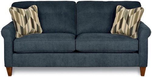 La-Z-Boy Julius Stationary Button Tufted Sofa