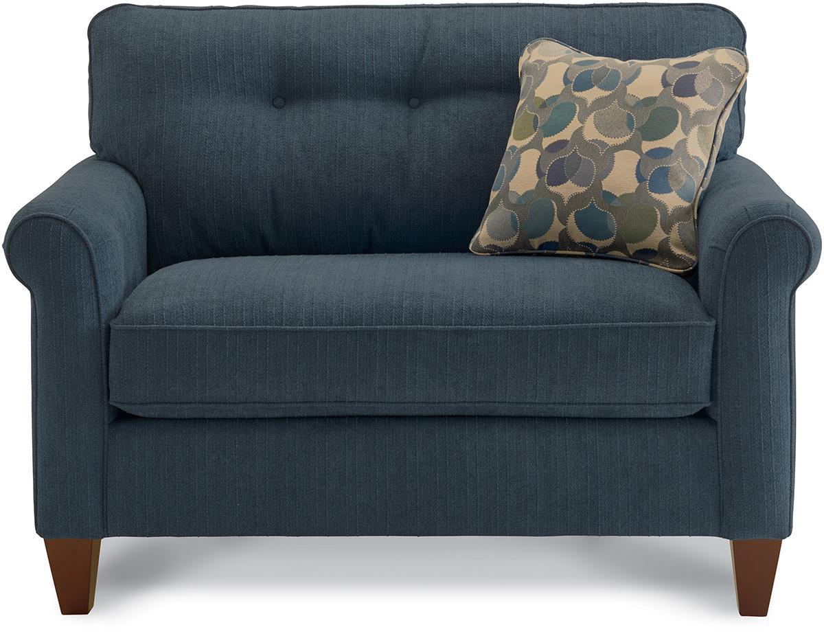 La Z Boy Laurel Oversized Chair And Ottoman Set Conlin S Furniture Chair Ottoman Sets