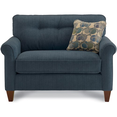La-Z-Boy Laurel  Rolled Arm Chair-and-a-Half