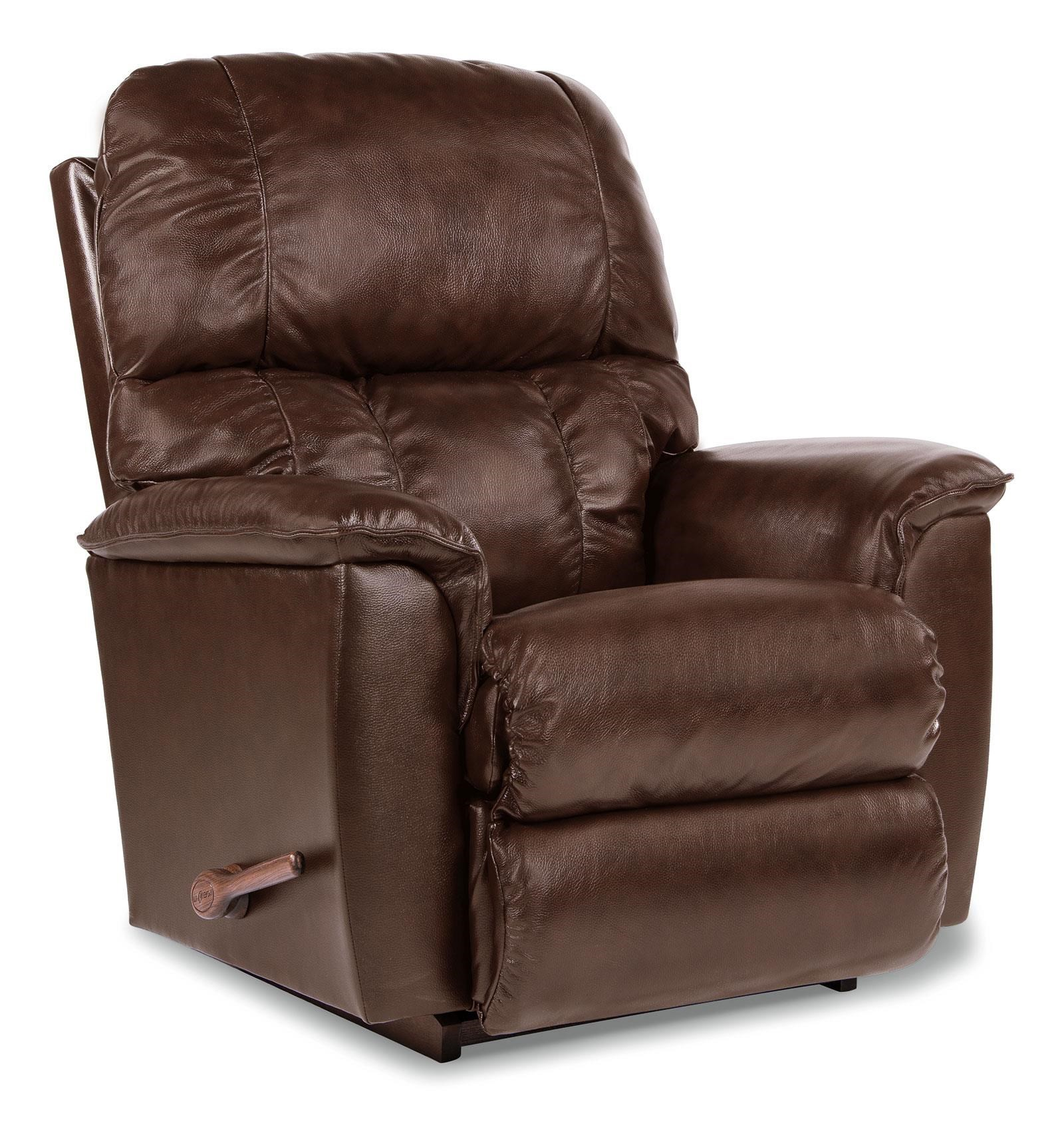 lazboy lawrence leather recliner