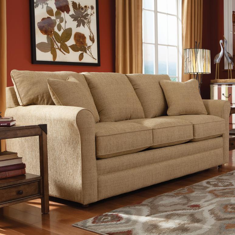 La Z Boy Laurel SUPREME COMFORT™ Queen Sleep Sofa   Morris Home   Sleeper  Sofas