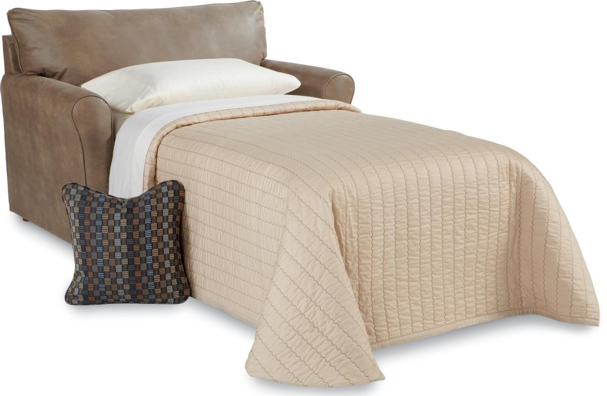 La Z Boy Leah 555418 SUPREME COMFORT™ Twin Sleeper | Great American Home  Store | Sleeper Sofas