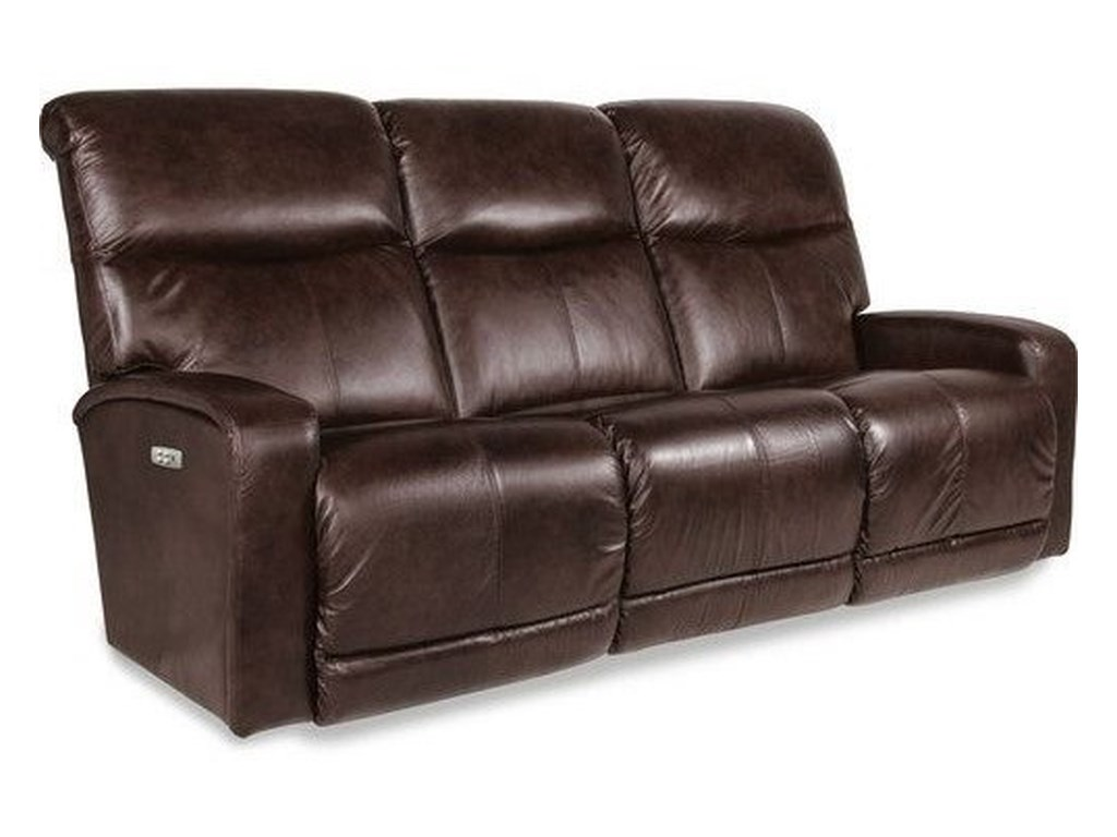 La Z Boy Levi Contemporary Power Recline Xrw Wall Saver Sofa With