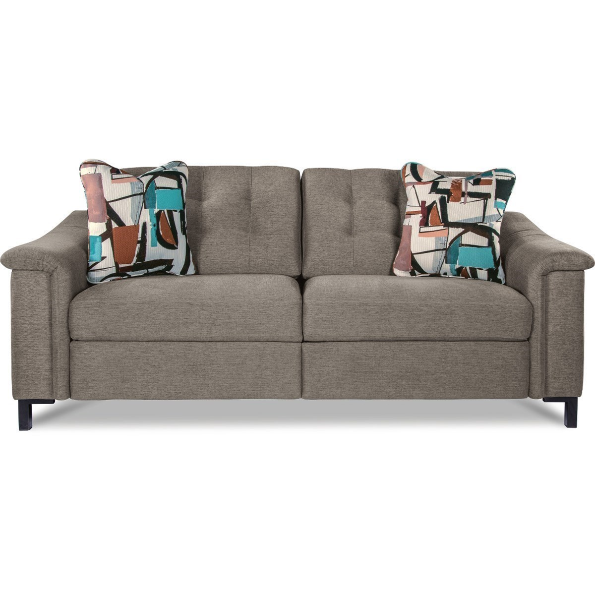 Power Reclining Two Seat Sofa With USB Charging