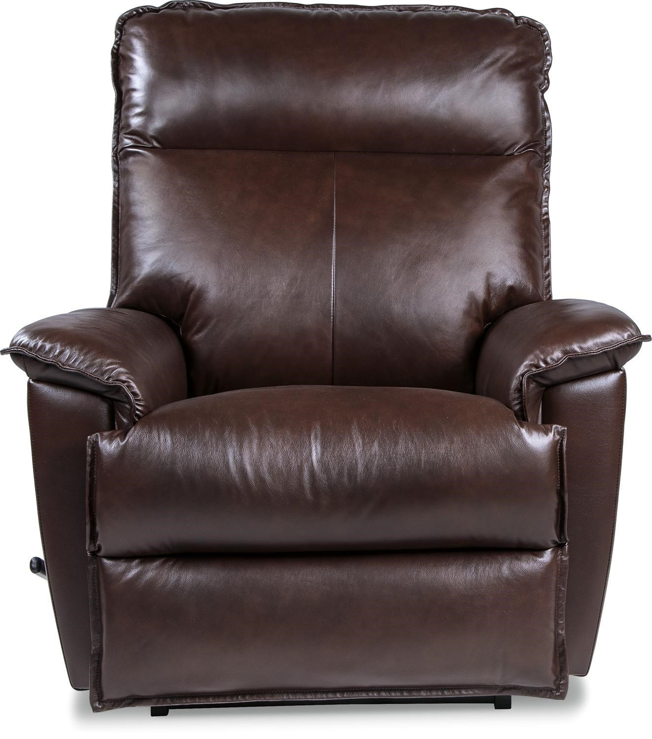 La-Z-Boy Recliners Jay Chocolate Leather Reclina-Rocker® Recliner - Great American Home Store - Three Way Recliners  sc 1 st  Great American Home Store : la z boy leather recliner - islam-shia.org