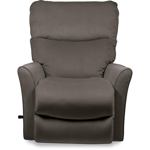 La-Z-Boy Recliners Rowan Small Scale RECLINA-ROCKER® Recliner with Flared Arms