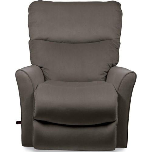 La Z Boy Rowan Small Scale Reclina Rocker Recliner With Flared