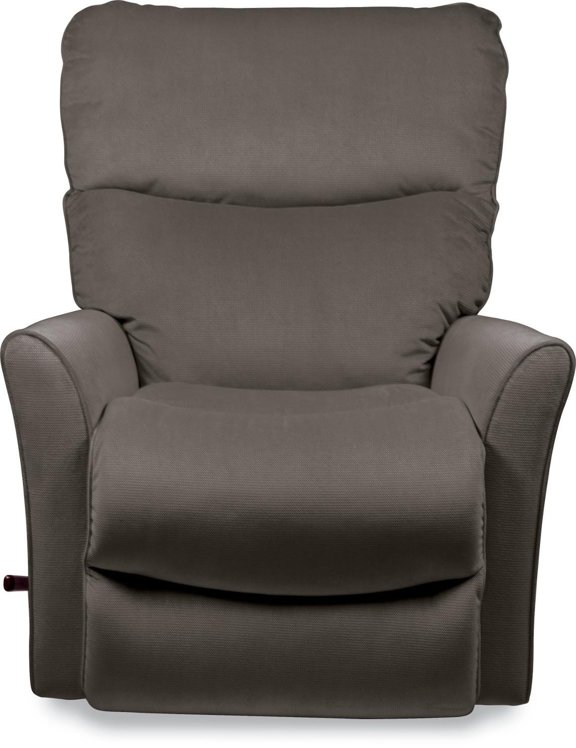 La Z Boy Fabric Rowan Small Scale RECLINA ROCKER® Recliner With Flared Arms    Great American Home Store   Three Way Recliners