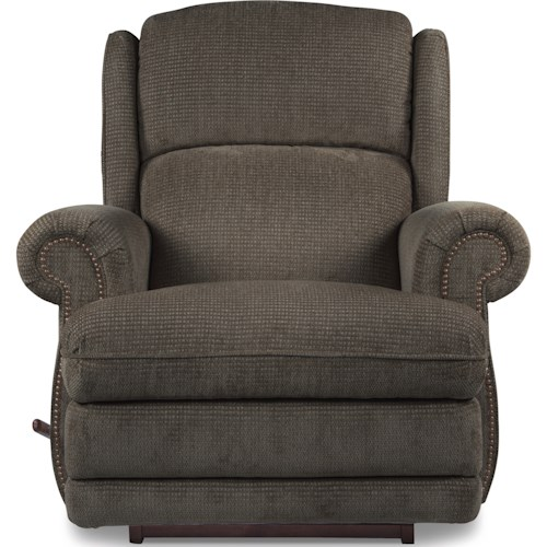 La-Z-Boy Recliners Kirkwood RECLINA-ROCKER® Recliner with Nailhead Studs