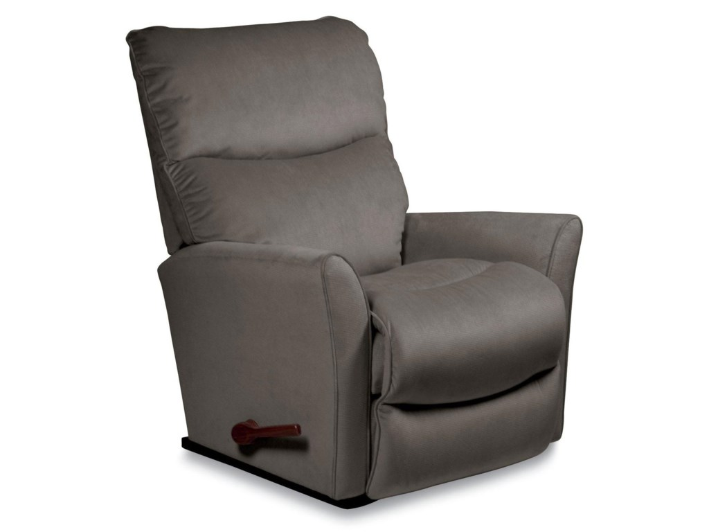 Adriatic Rowan Small Scale Reclina Way Wall Recliner With Flared Arms By La Z Boy