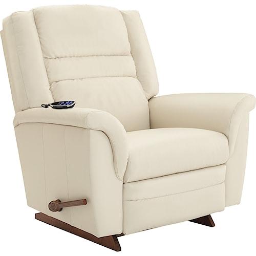 La-Z-Boy Recliners Sequoia 2-Motor Massage & Heat RECLINA-ROCKER® Recliner