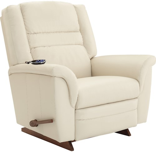 La-Z-Boy Recliners Sequoia 2-Motor Massage & Heat RECLINA-ROCKER® Recliner