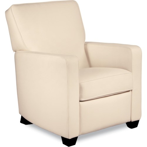 La Z Boy Recliners Midtown Contemporary Recline Low Profile Recliner