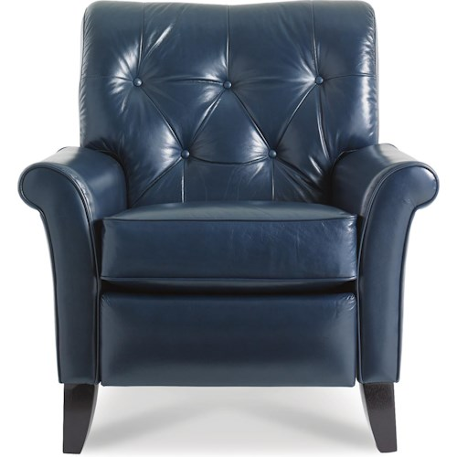 La-Z-Boy Recliners Thorne High Leg Recliner with Tufted Back