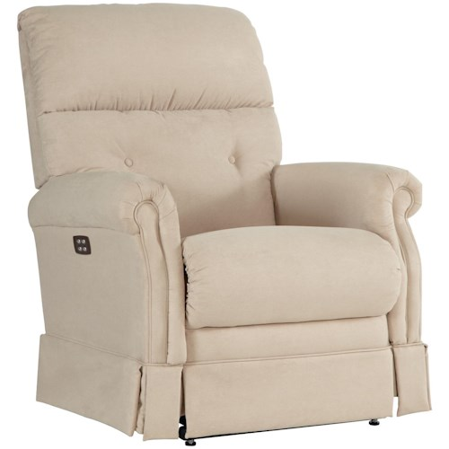 La-Z-Boy Recliners Amelia Power-Recline-XRw? Wall Saver Recliner with Skirted Chaise