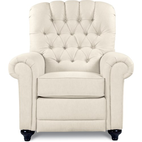 La-Z-Boy Recliners Whitman Tufted High Leg Recliner with Power Recline