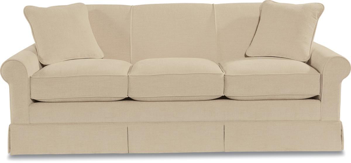 La Z Boy Madeline Stationary Sofa With Rolled Arms