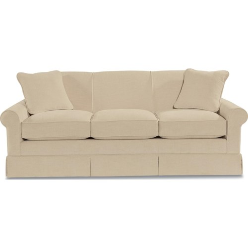 La-Z-Boy Madeline Stationary Sofa with Rolled Arms
